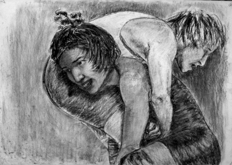 Секс с борчихой 11 фотография